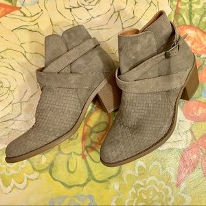 Daytrip Cashew Colored Ankle Boots